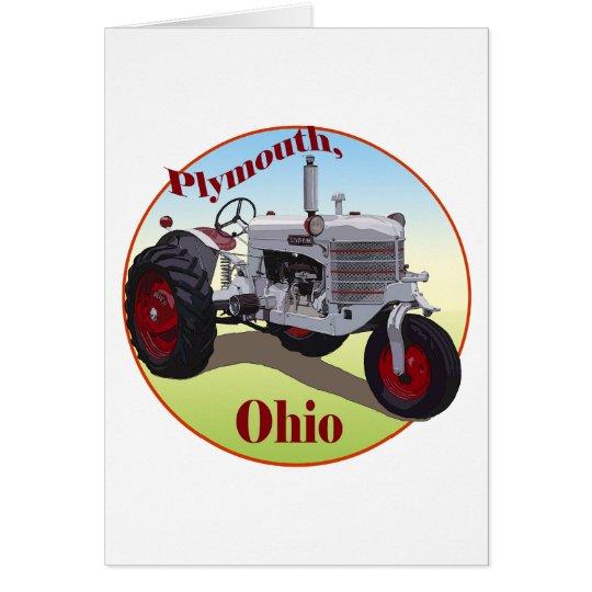 Plymouth, Ohio Card