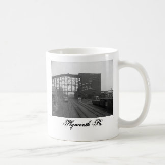 Plymouth Pa. Coal Breaker Mug