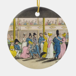 Plymouth Playhouse, plate from 'The Adventures of Ceramic Ornament