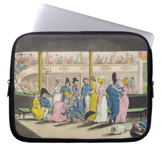 Plymouth Playhouse, plate from 'The Adventures of Laptop Sleeve