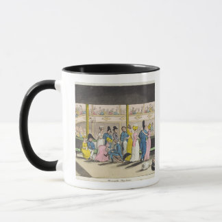 Plymouth Playhouse, plate from 'The Adventures of Mug