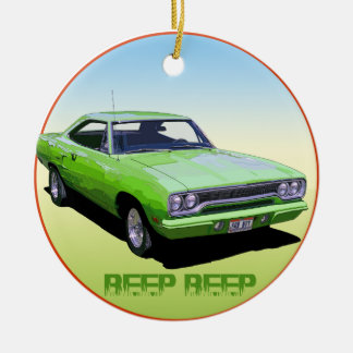 Plymouth Road Runner Ornament