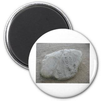 Plymouth Rock 1620 Imán Redondo 5 Cm