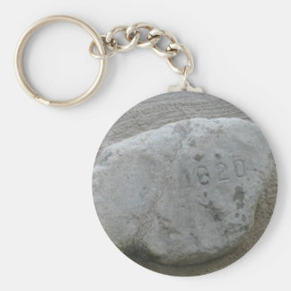 Plymouth Rock 1620 Llavero Redondo Tipo Pin