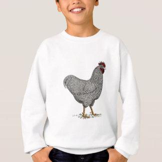 Plymouth Rock Chicken Drawing Sweatshirt