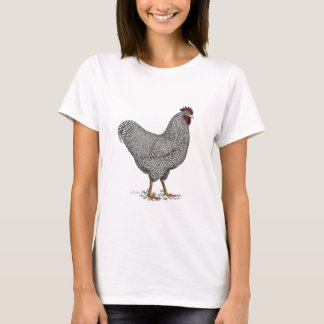 Plymouth Rock Chicken Drawing T-Shirt
