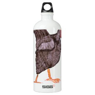 PLYMOUTH ROCK HEN, tony fernandes Aluminum Water Bottle