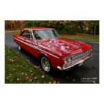 Plymouth Sport Fury Poster