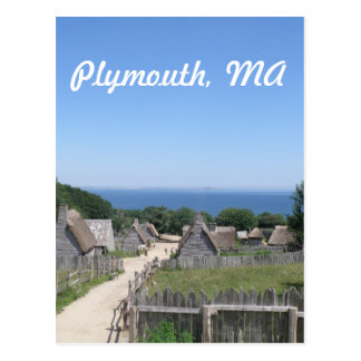 Plymouth Tarjeta Postal