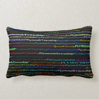 Plymouth Township Text Design I Lumbar Pillow