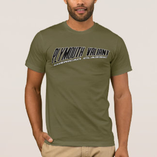 Plymouth Valiant - Slanted Design American Classic T-Shirt