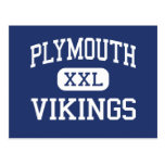 Plymouth - Vikings - High - Plymouth Postcard
