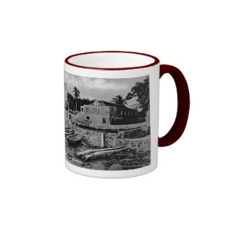 Plymouth - War Memorial & Customs House Ringer Mug
