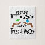 Plz Fiji Save Tree & Water Jigsaw Puzzles