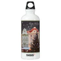 Plzen - Christmas Tree - WG.jpg Water Bottle