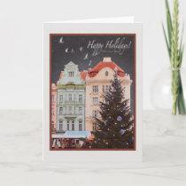 Plzen - Christmas Tree (WR) Holiday Card