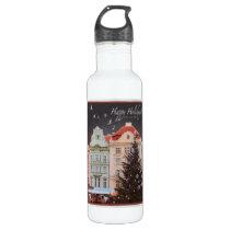 Plzen - Christmas Tree (WR) Water Bottle