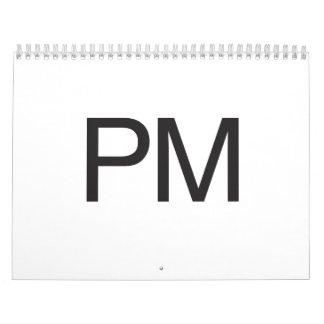 PM WALL CALENDAR