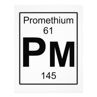 Pm - Promethium Letterhead