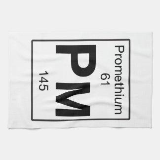 Pm - Promethium Towel