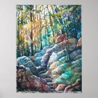 PMACarlson Appalachian Trail,  Mt. Tammany Poster