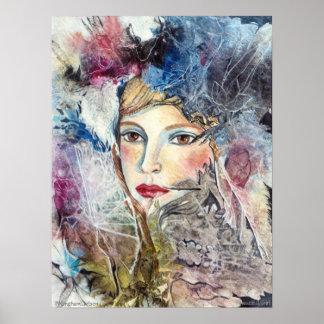 PMACarlson Beautiful Girl Poster
