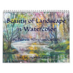 PMACarlson Beauty of Landscape Calender Wall Calendars