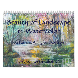 PMACarlson Beauty of Landscape Calender Calendar