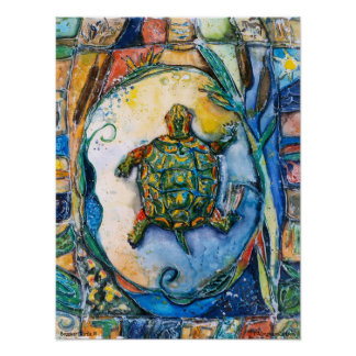 PMACarlson  Brother Turtle III Poster