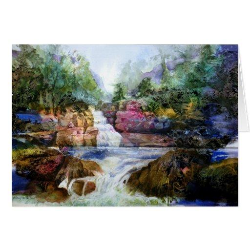 PMACarlson Buttermilk Falls III Card