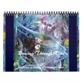 PMACarlson Dancing Through Time Calender Calendar
