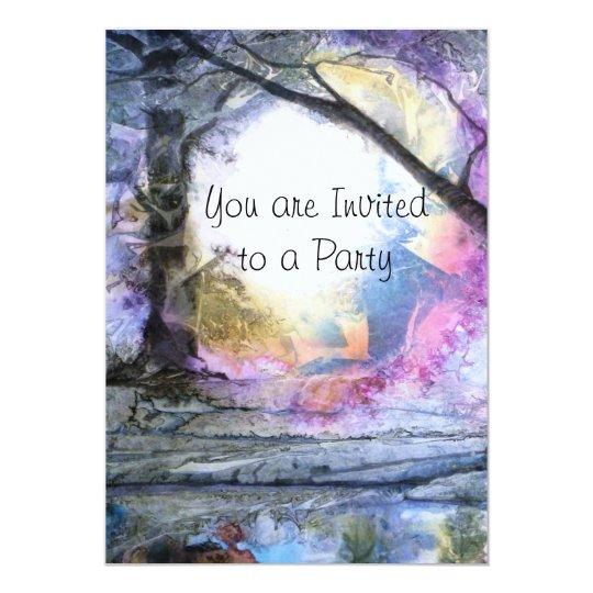PMACarlson Dreamscape Invitiation Card