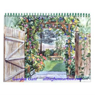 PMACarlson Garden Gate Calender 2011 Calendar