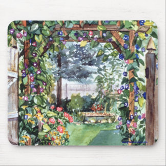 PMACarlson Garden Gate Mouse pad