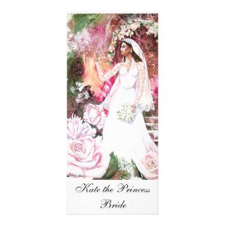 PMACarlson Kate el marcador de libro de princesa B Lona Personalizada