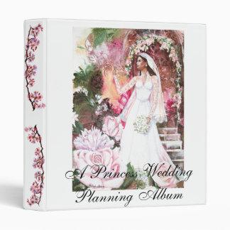 "PMACarlson Kate la princesa Bride Binder Carpeta 1"""