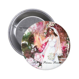 PMACarlson Kate la princesa Bride Button Pin Redondo De 2 Pulgadas