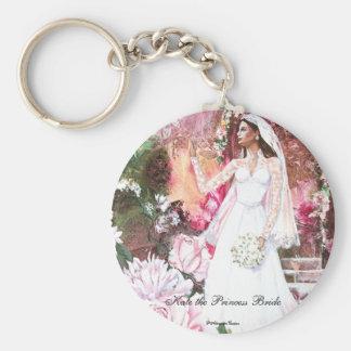 PMACarlson Kate la princesa Bride Keychain Llavero Redondo Tipo Pin