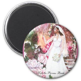 PMACarlson Kate la princesa Bride Magnet Imán Redondo 5 Cm