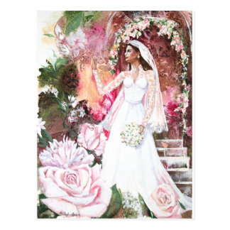 PMACarlson Kate la princesa Bride Postcard Postales