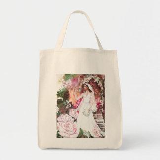 PMACarlson Kate la princesa BrideTote Bag Bolsa Tela Para La Compra