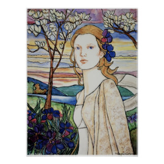 PMACarlson Lady in Lace Poster