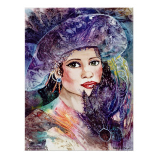 PMACarlson Lady with a Hat Poster