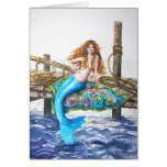 PMACarlson Mermaid on the Dock Card