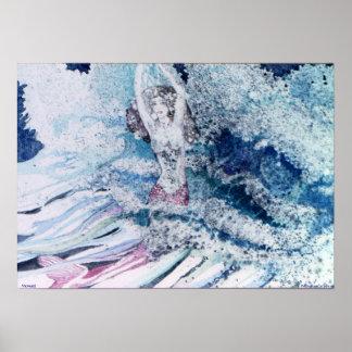 PMACarlson Mermaid Poster