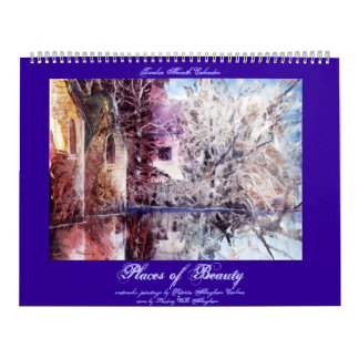 PMACarlson  Places of Beauty Calender Calendar
