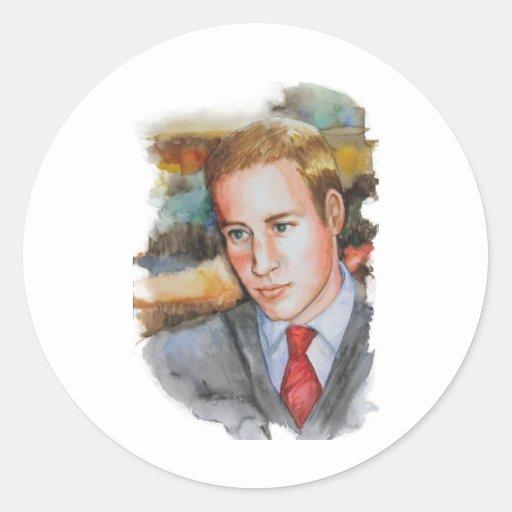PMACarlson Prince William Classic Round Sticker