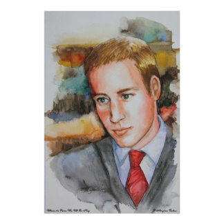 PMACarlson Prince William Poster