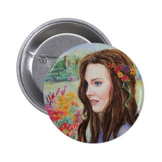 PMACarlson Princess Kate 2 Inch Round Button
