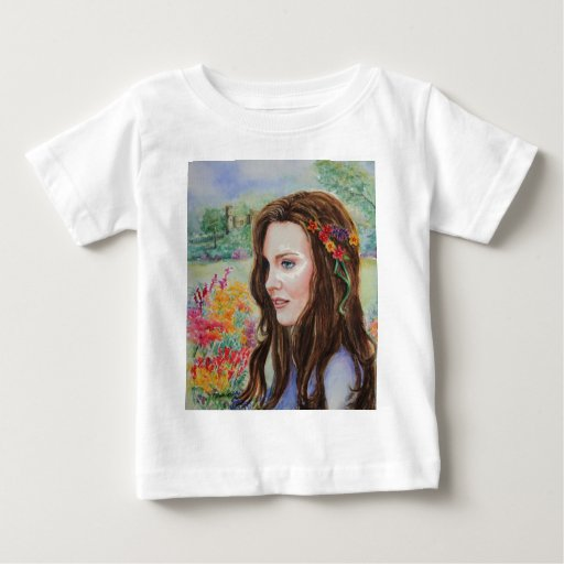 PMACarlson Princess Kate Baby T-Shirt